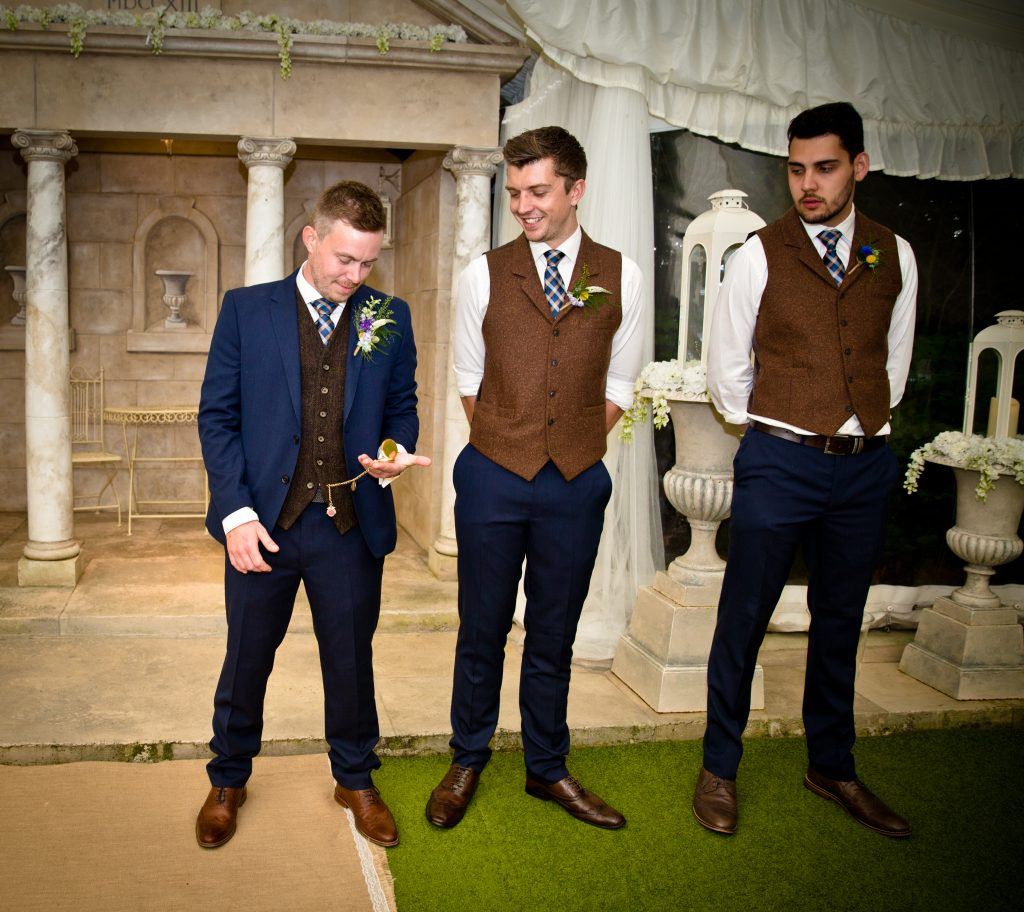 groom watch best man