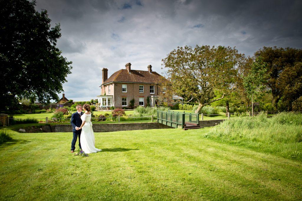 wedding venue bride groom