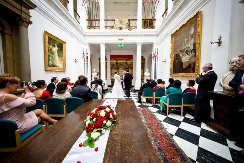 vows bride groom wedding
