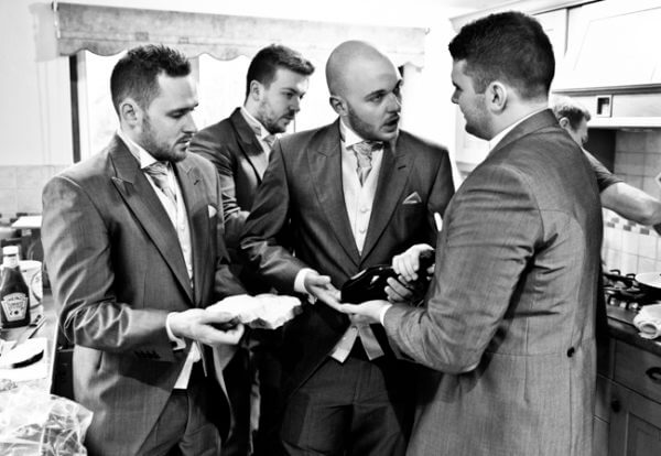 wedding brothers best men groom