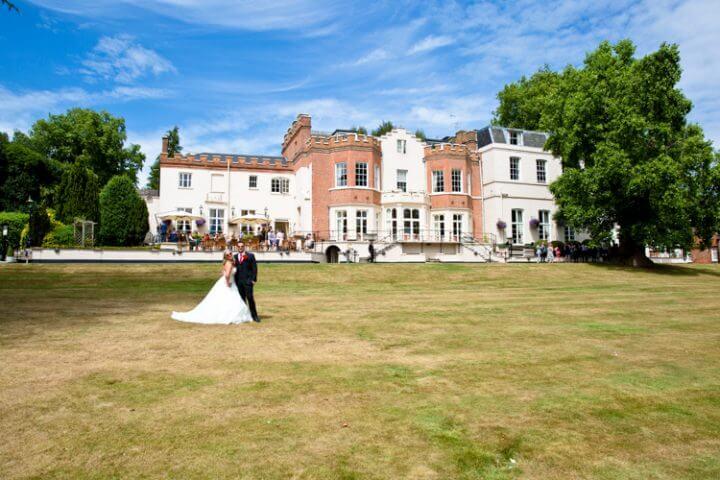 bride groom Taplow House