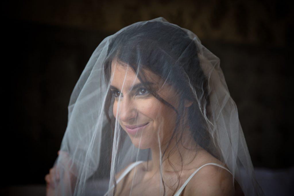 wedding dress bride veil