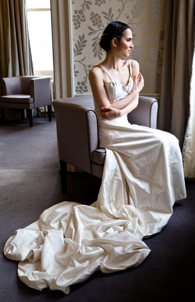 wedding bride dress married