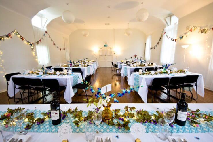 tables wedding breakfast