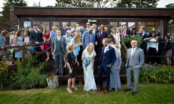 laugh bride wedding