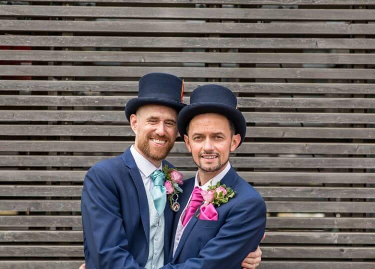 wedding, gay, London.