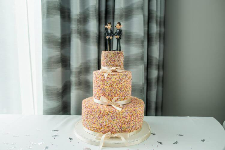 wedding, cake, gay, wedding