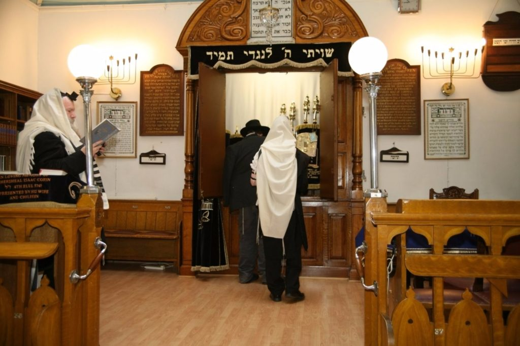 Ark Synagogue purim