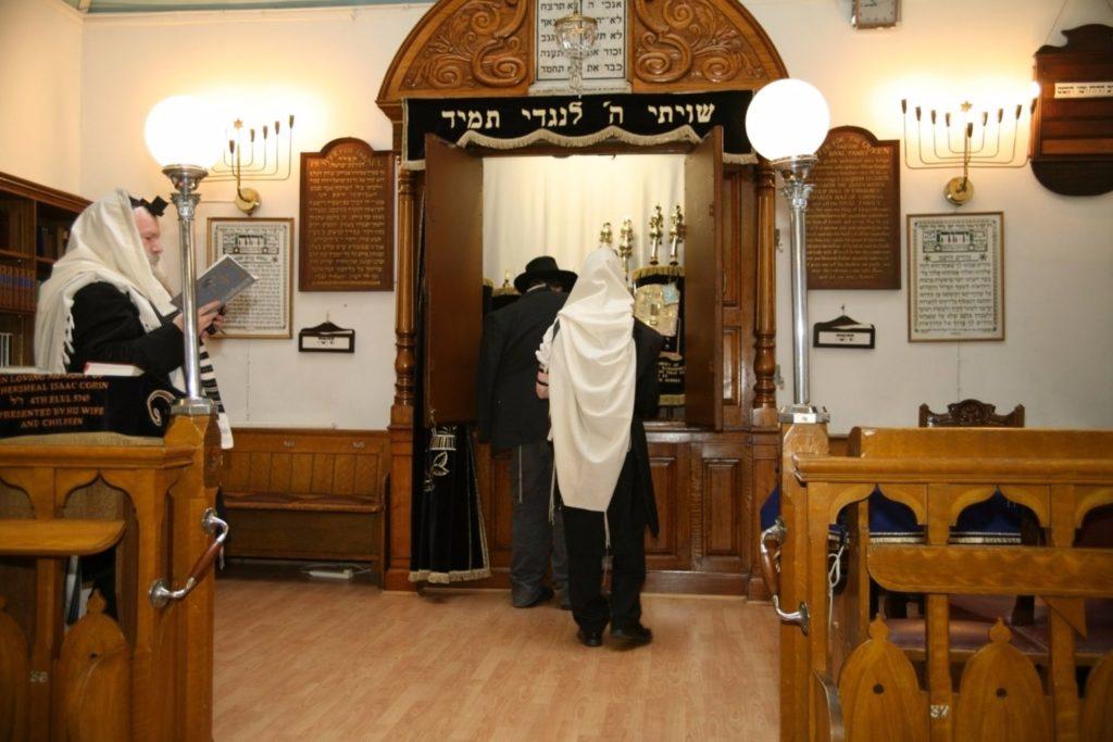 Ark Synagogue purim