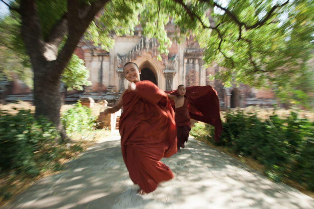 Boy Monk Began Myanmar