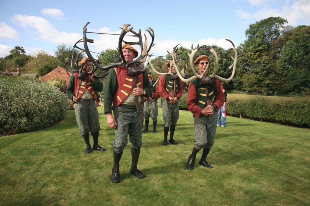 Horn Dance Abbot's Bromley Staffordshire UK