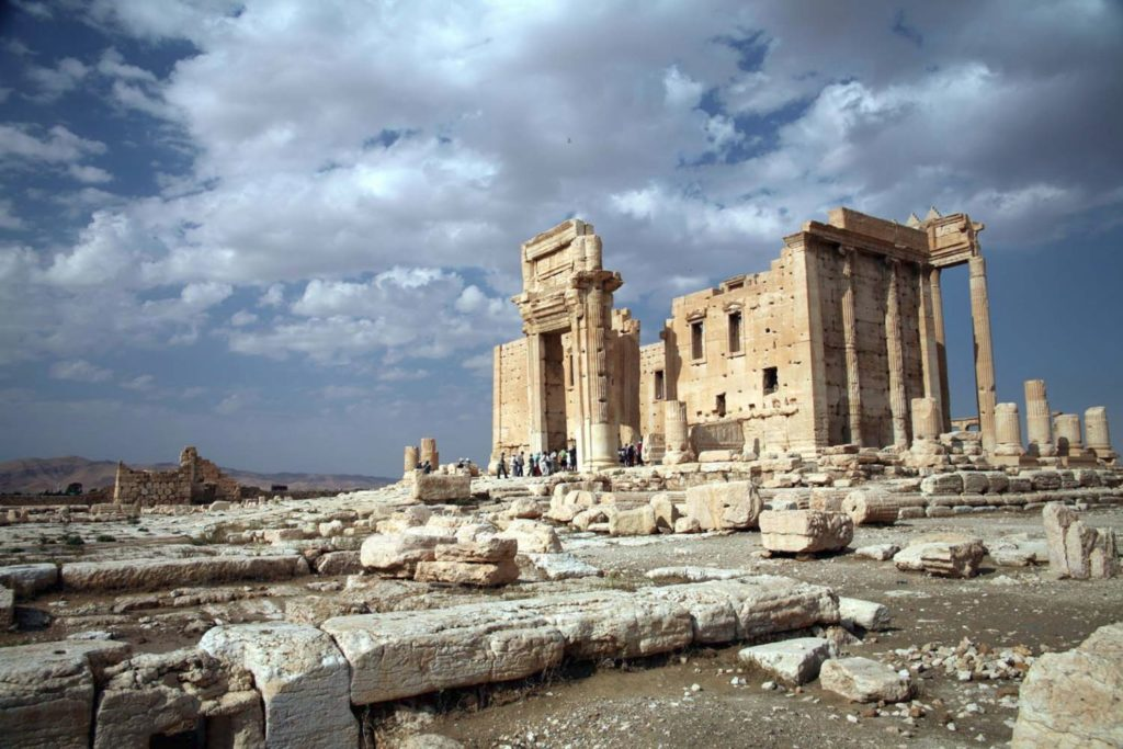 Temple of Bel Palmyra Syria