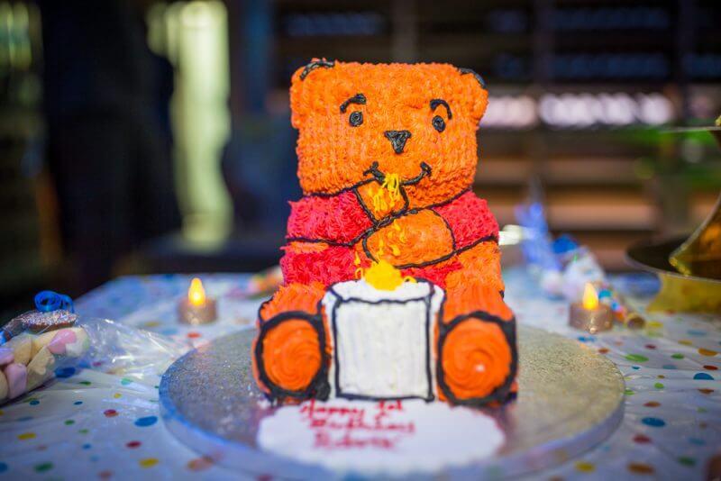 Childs, birthday, Party, birthday, cake