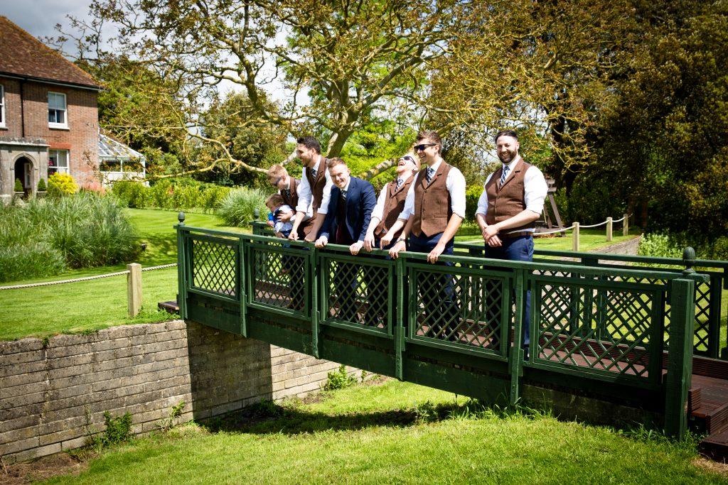 bridge laugh groom mens