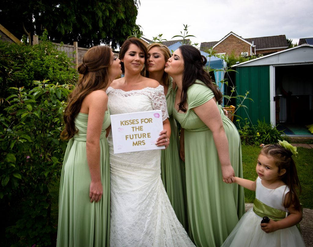 bride brides maids