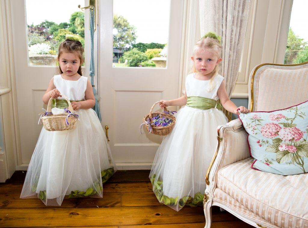 flower girls basket wedding