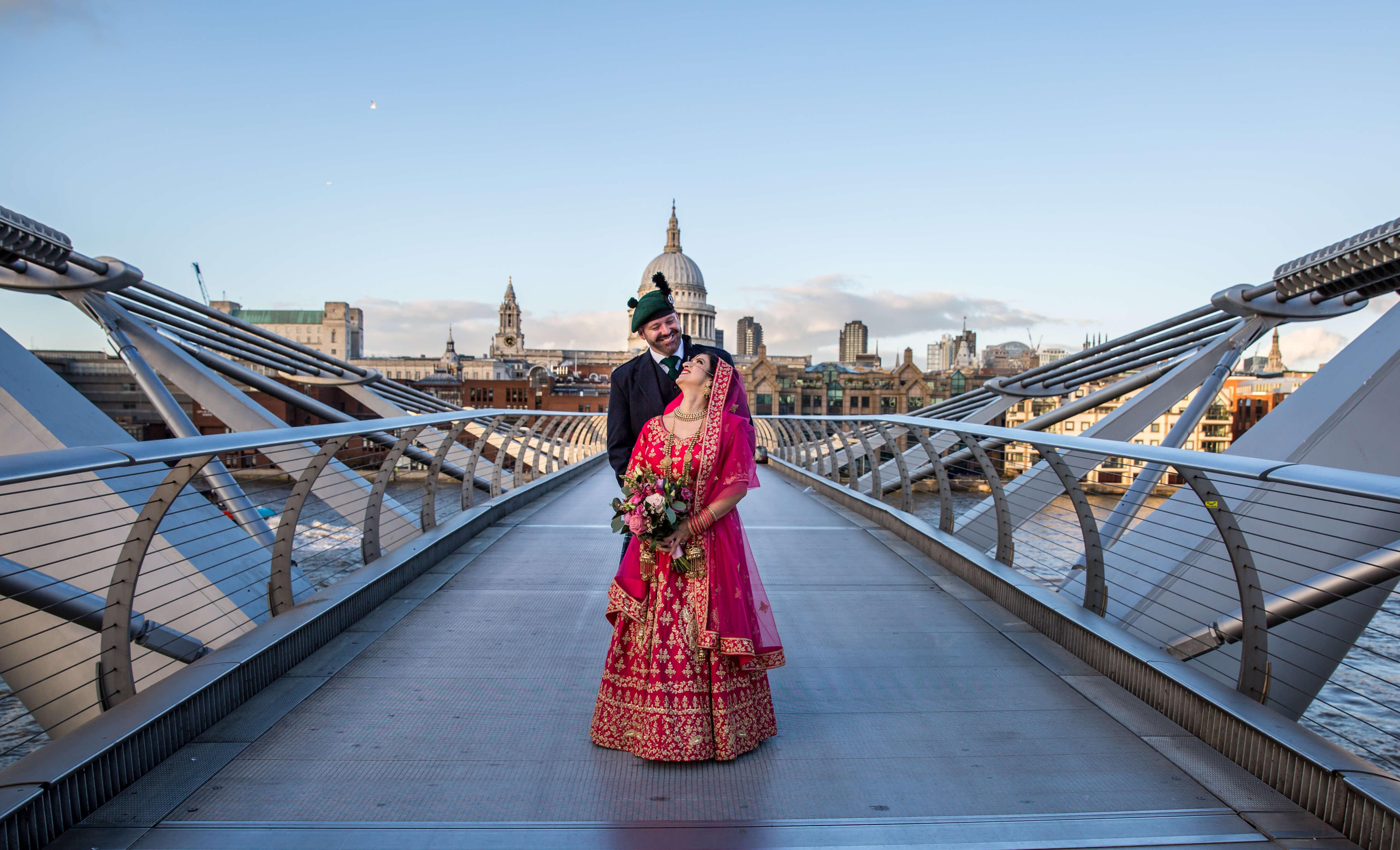 wedding, Indian, Scottish,