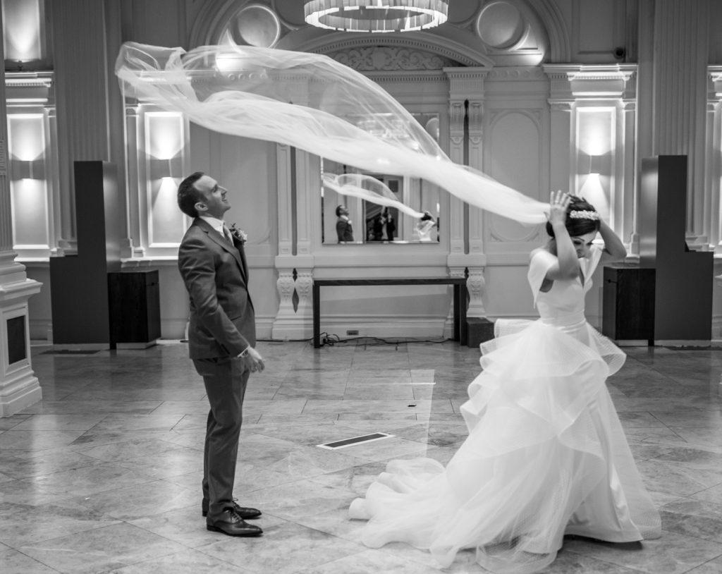 wedding, married, bride, groom, Andaz Hotel, vale.