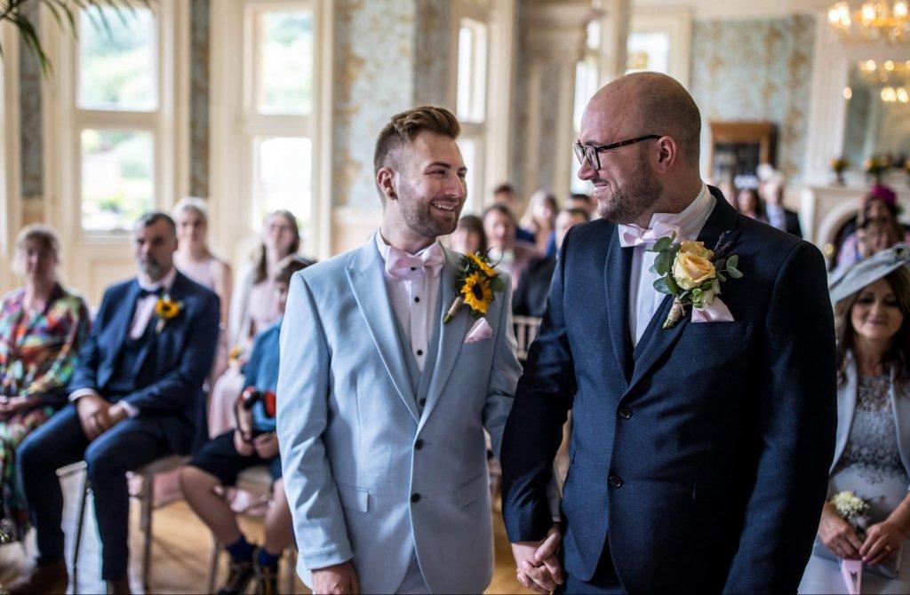 Daryl and Dan awesome gay wedding