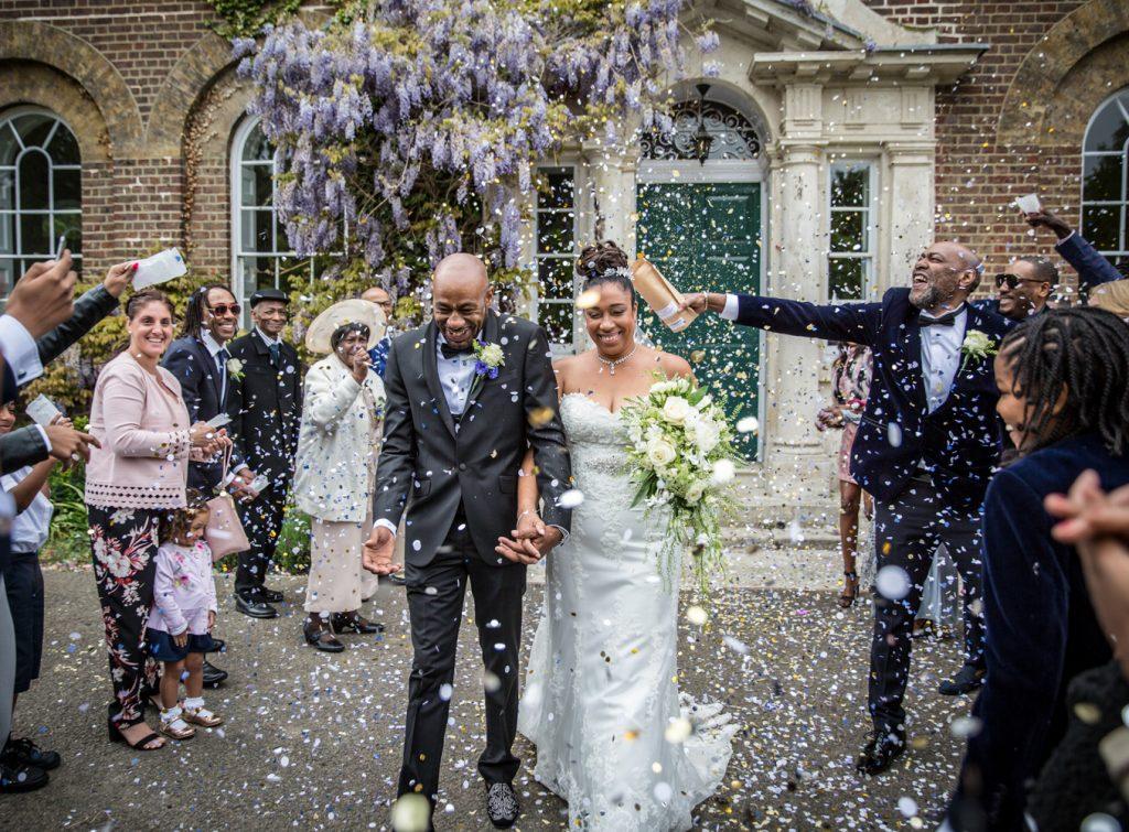 Confetti, wedding,