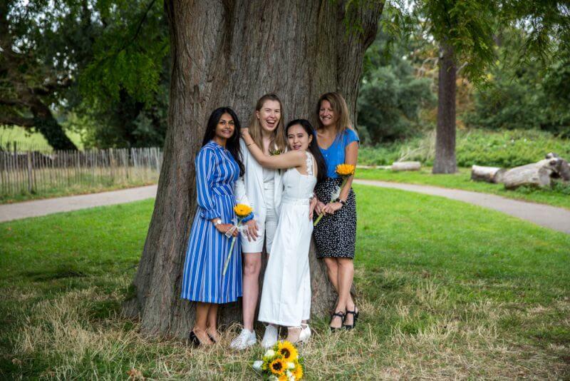 wedding, two bride, gay, brides