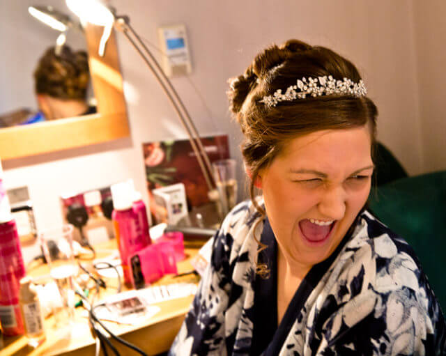 bride laugh laughing tiara smile bride