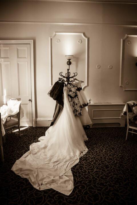 dress bride coat hanger