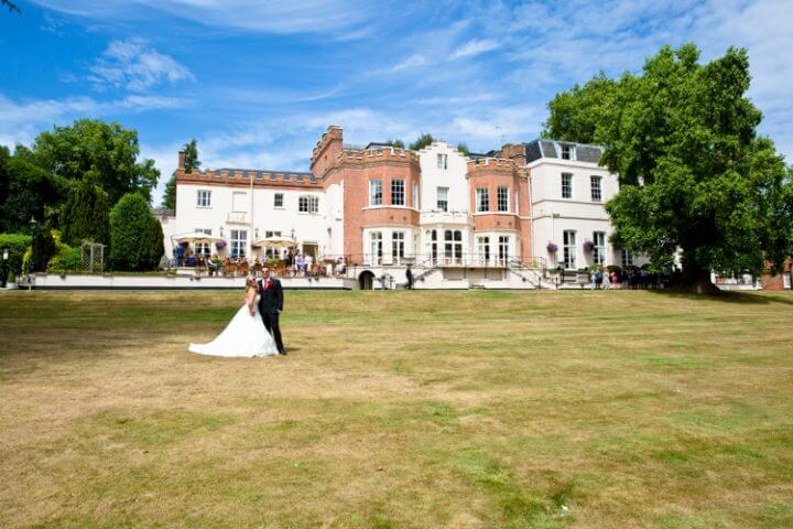 bride groom Taplow House