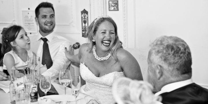 laugh bride fun