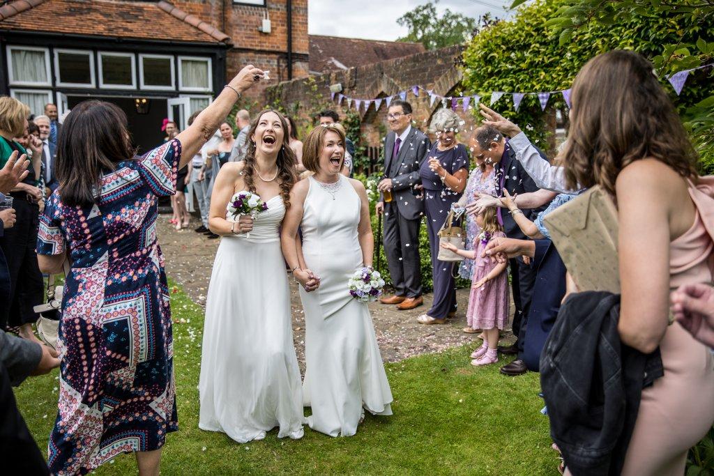 gay, wedding, 2 bride,