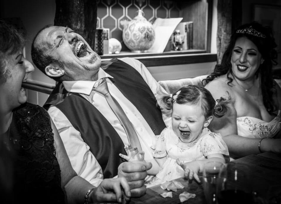 Professional experienced candid London and UK wedding photographer