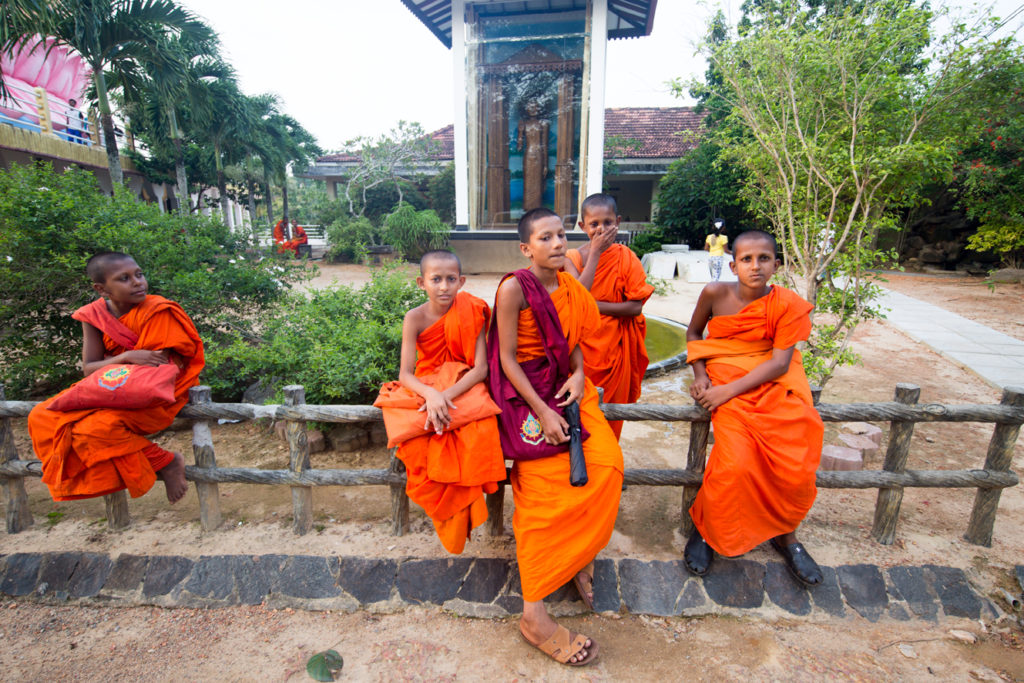 Monks Sri Lanka