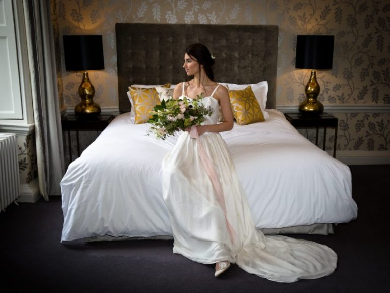 wedding dress room suite bride