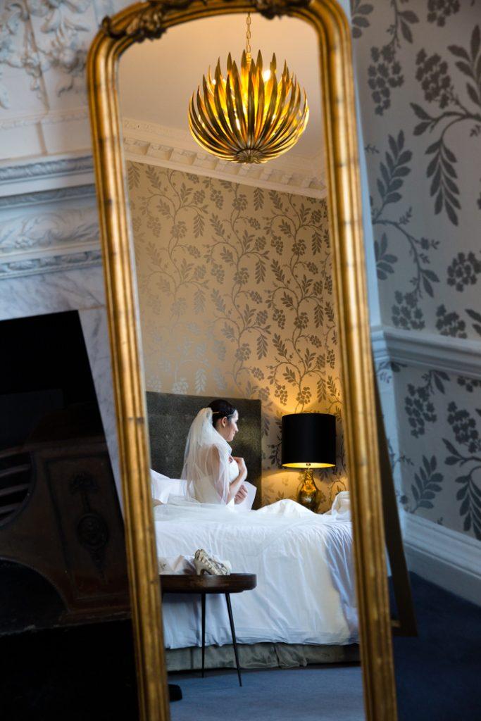 wedding bride day suite