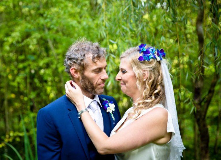portrait wedding couple