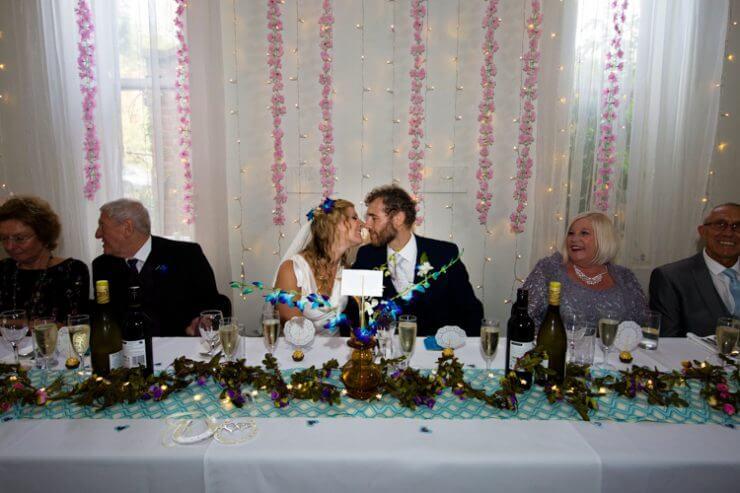 bride groom wedding reception