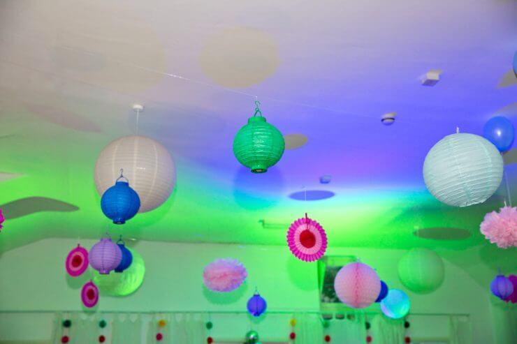 balloons decorations reception