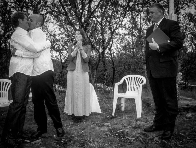 gay wedding humanist Norway North
