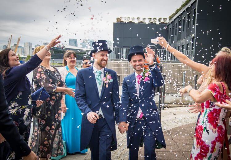wedding, gay, London