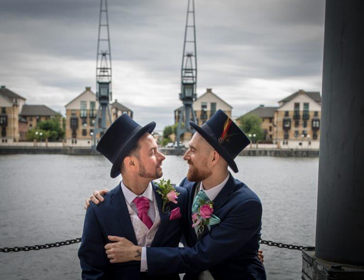 wedding, gay.