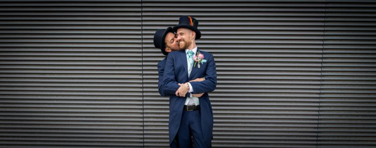 wedding, gay, London